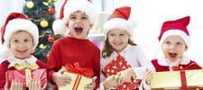 Детские новогодние утренники в Baganashil